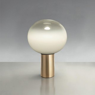 Artemide 라구나 LED 테이블 램프 Ø160 사틴 브래스