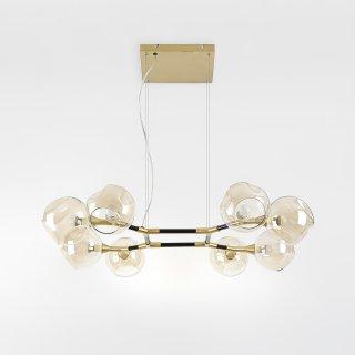 LED램프포함 플럼 8등 사각