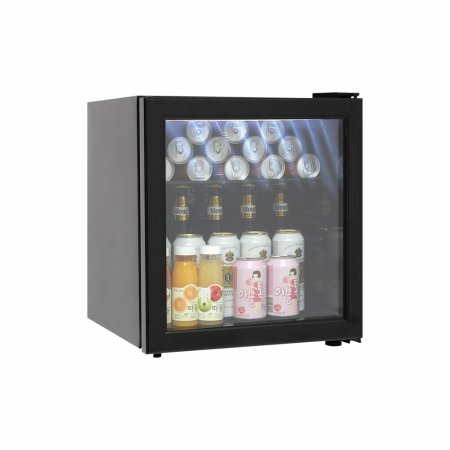 블랙 미니냉장고 음료냉장고 냉장쇼케이스 / LSC-60(LED)